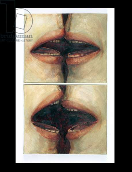 Talking Mouths, 1997 (oil on canvas)