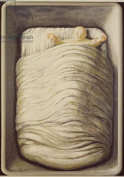 Sleeping Baby, 1996 (oil on canvas)