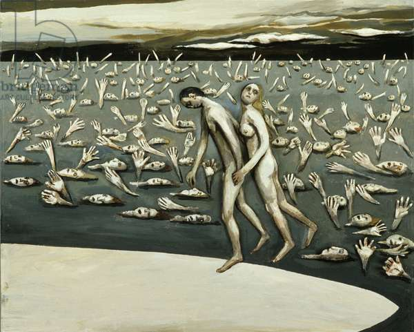 All the People - The Beginning, 1982 (oil on canvas)