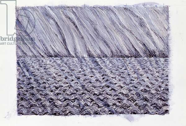 Study for the Sea, 2005 (pen and ink and wash on paper)
