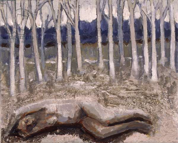 By a Wood 2, 2007 (oil on canvas)