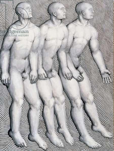 Three Kings, 2002 (oil on canvas)