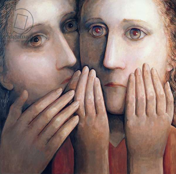 Requiem 1, 2004 (oil on canvas)