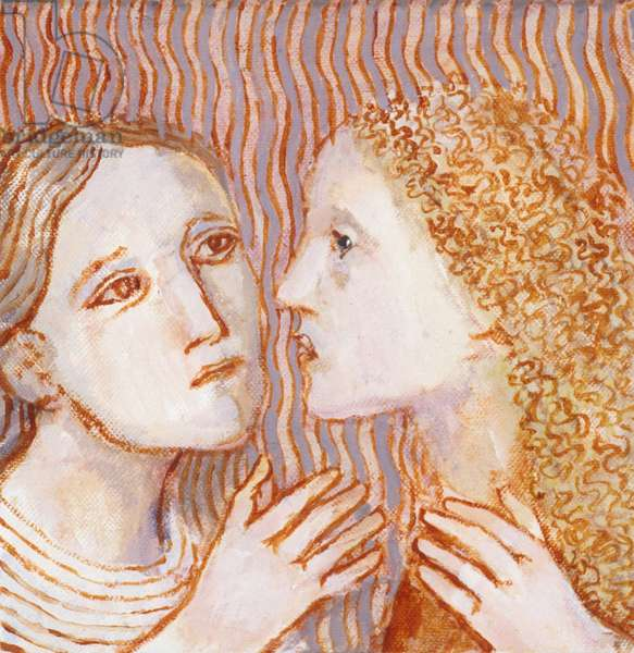 Sisters - 1, 2009 (oil on canvas)