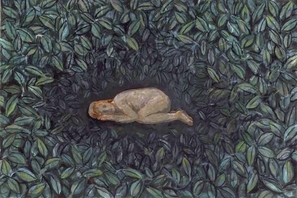 Secret Place 2, 2009 (oil on canvas)