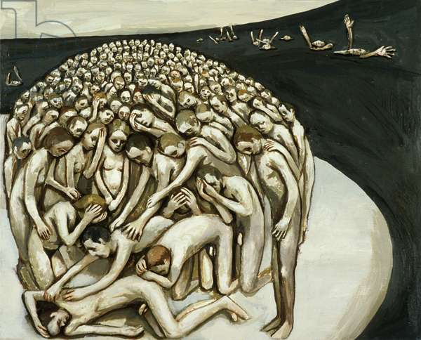 All the People - The Wounded Man, 1982 (oil on canvas)