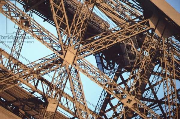 Eiffel Tower, built 1887-89 (iron) (detail)