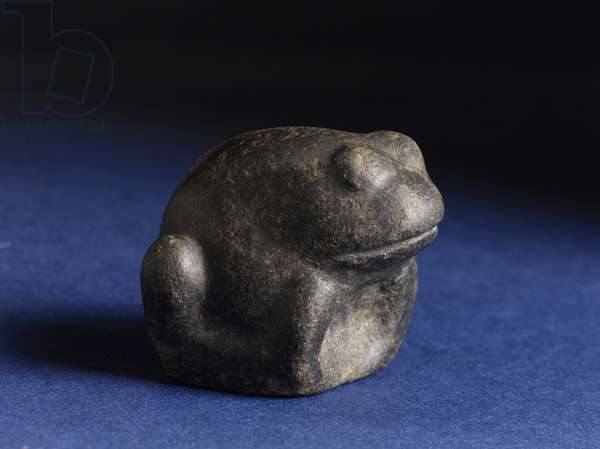 Figurine of a Frog, c.1070-332 BC (stone)