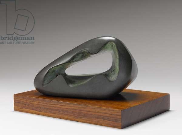 Figure in a landscape (Zennor) (bronze)