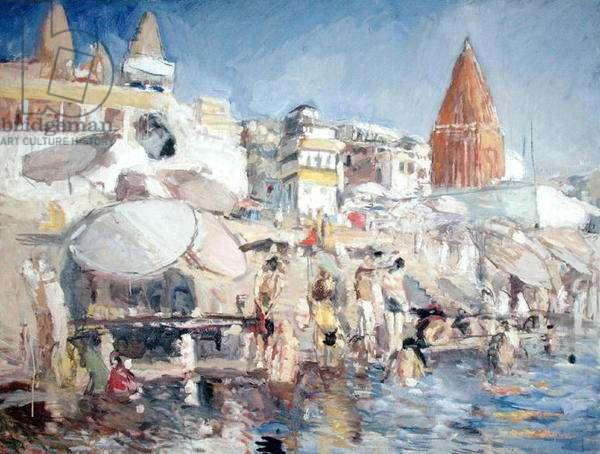 Varanasi (oil on canvas)
