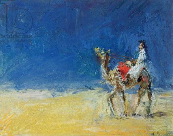 Desert Journey (pastel on paper)