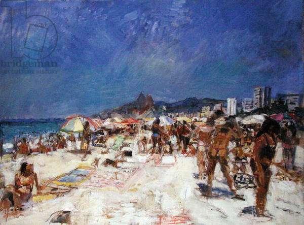 44o Posto 7, Ipanema (oil on canvas)