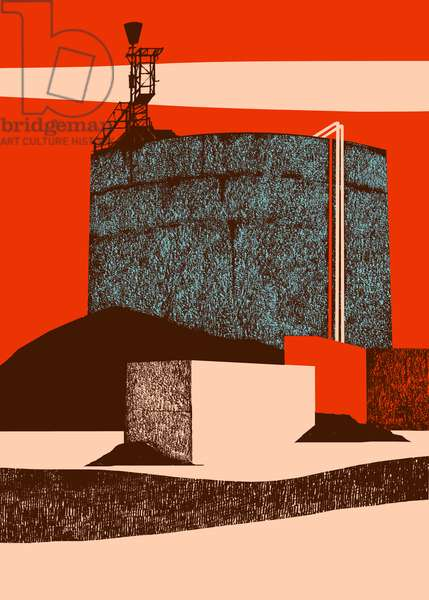 Container, 2014 (screenprint)