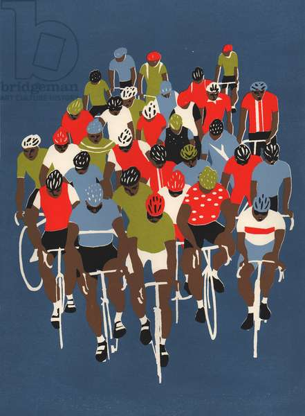 Gruppetto, 2014 (screenprint)