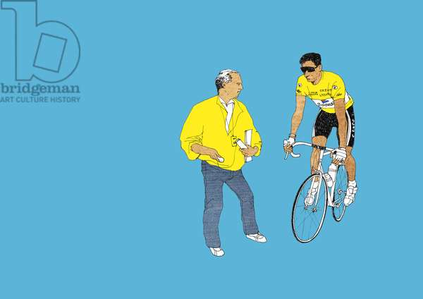 Indurain, 2014 (screenprint)