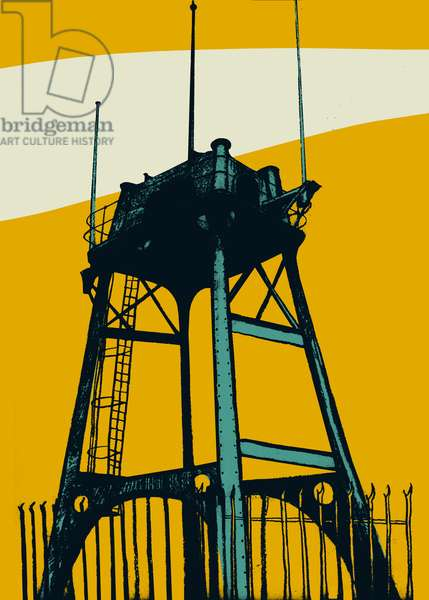 Lookout, 2014 (screenprint)