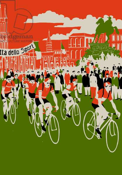 Giro, 2013 (screen print)