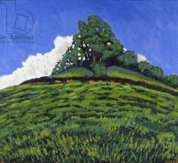 Hillock (oil on canvas)
