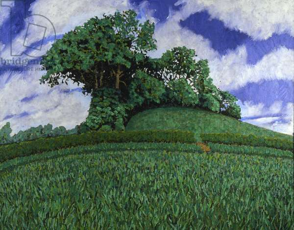 Copse (oil on canvas)
