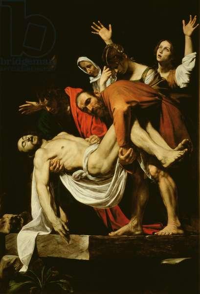 Deposition, 1602-4 (oil on canvas)