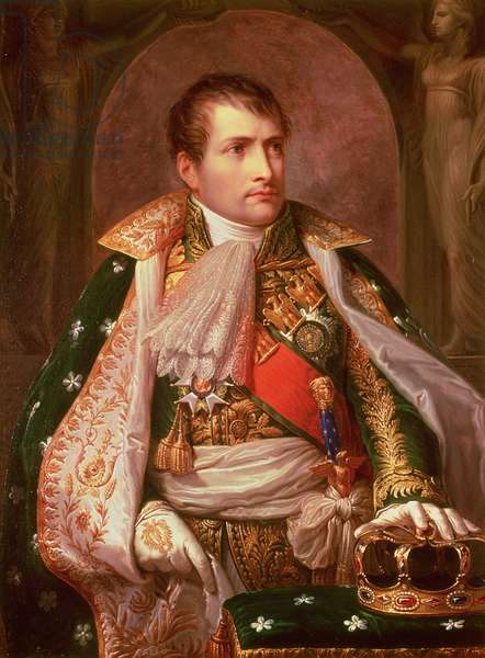 Napoleon Bonaparte (1769-1821), as King of Italy, 1805