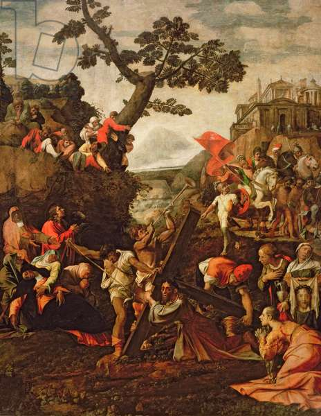On the Road to Calvary