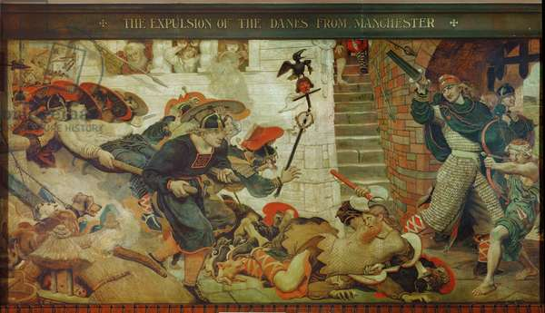 The Expulsion of the Danes from Manchester, 920 AD
