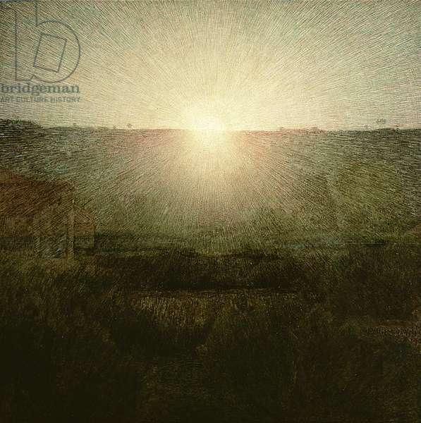 The Sun (Rising Sun) 1904 (oil on canvas)