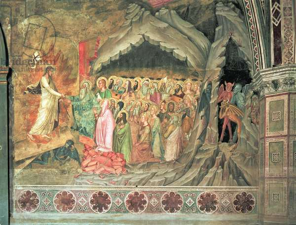 The Descent into Limbo, from the Spanish Chapel, 1366-88 (fresco)