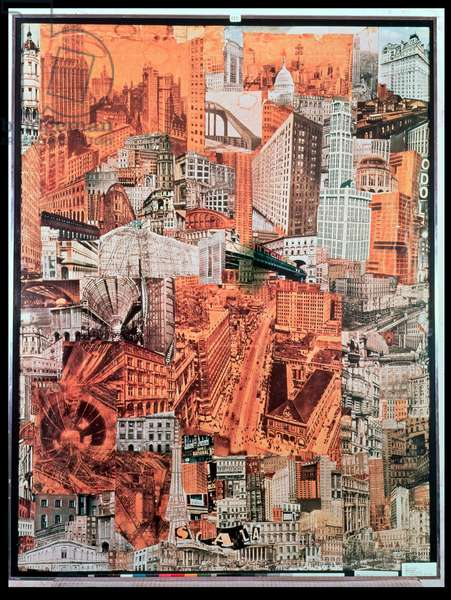 Metropolis, 1923 (collage) (see also 156583)