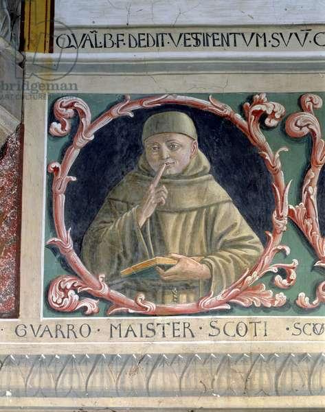 John Duns Scotus (c.1265-c.1308) 1450 (fresco)