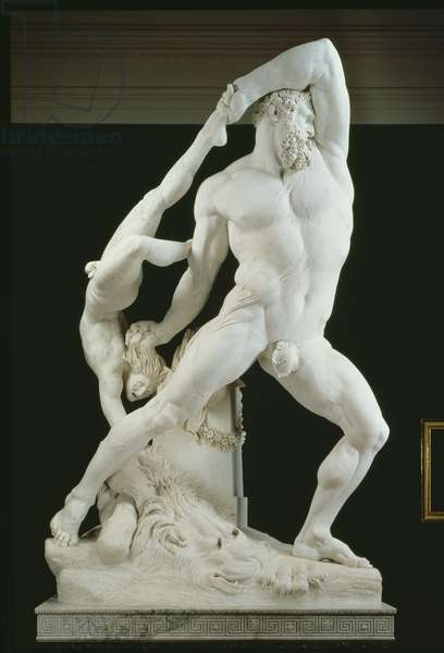 Hercules and Lycus (marble)