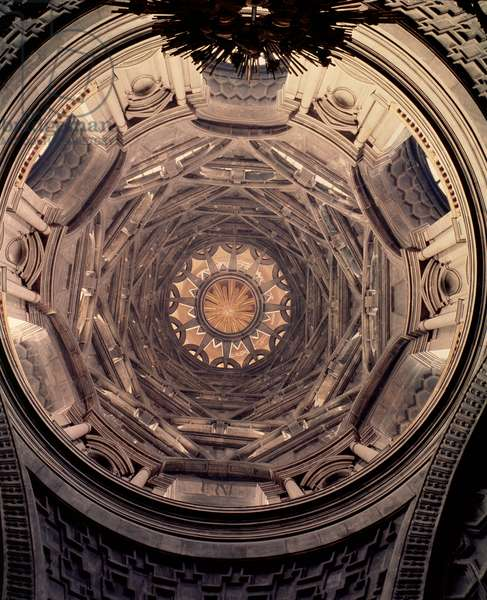 Dome of the Chapel of the Holy Shroud, 1668-94 (photo)