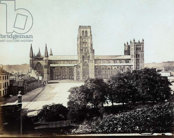 View of a side of the Cathedral of Durham