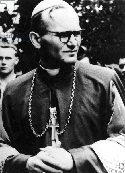 Portrait of the cardinal Karol Wojtyla