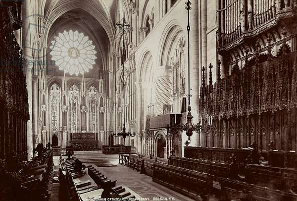 Interior of the cathedral of Durham