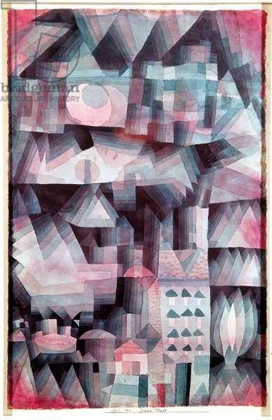 Dream City (Traumstadt), 1920 (w/c on paper)