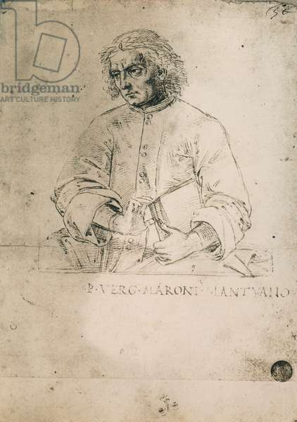Portrait of the Latin poet Virgil; drawing by Raphael, Gallerie dell'Accademia, Venice