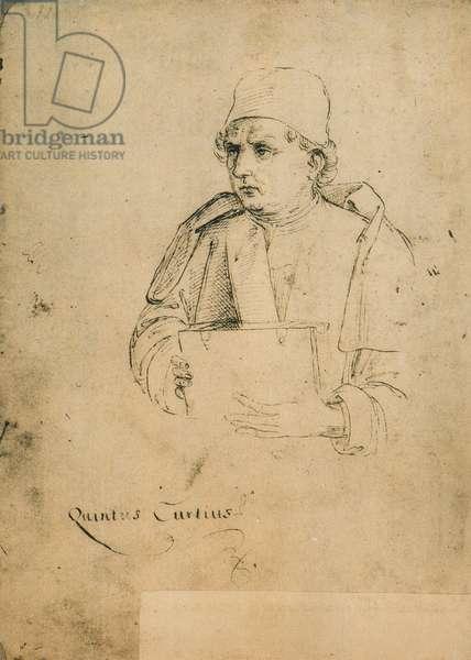 Quinto Curzio Rufo; drawing by Raphael. Gallerie dell'Accademia, Venice