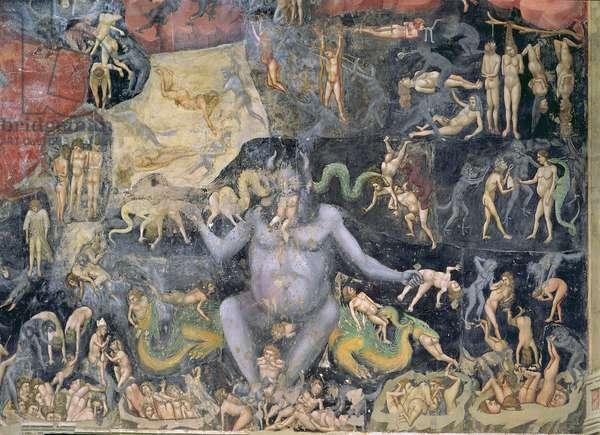 The Last Judgement, c.1305 (fresco) (detail of 65227)
