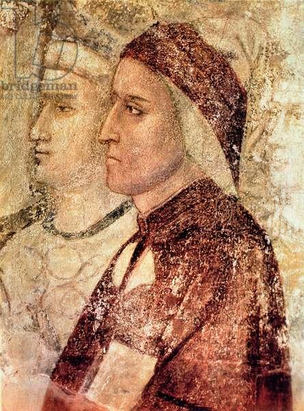 Paradise, detail of Dante Alighieri (1265-1321) c.1336 (fresco)
