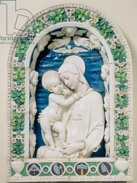 Madonna of the Architects: work by Andrea della Robbia