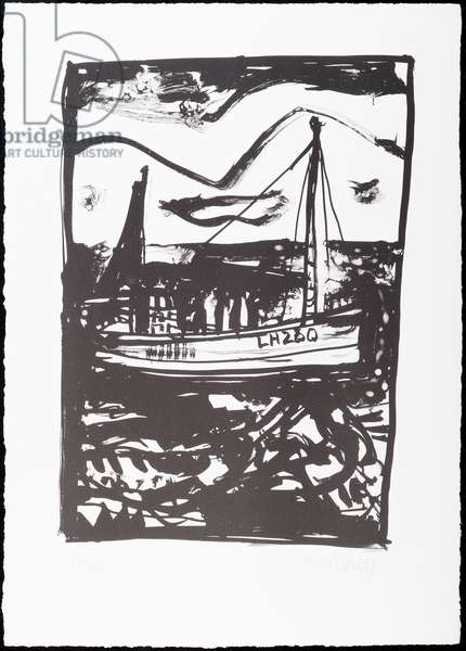 Fishing Boat (litho)