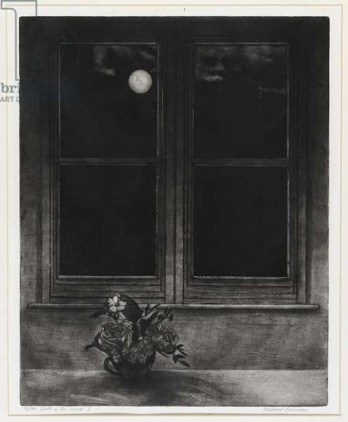 Death in the House (etching)