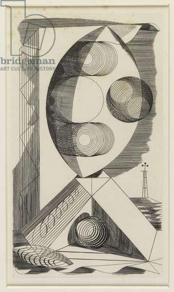 Abstract Design - Signature Magazine (copper engraving)