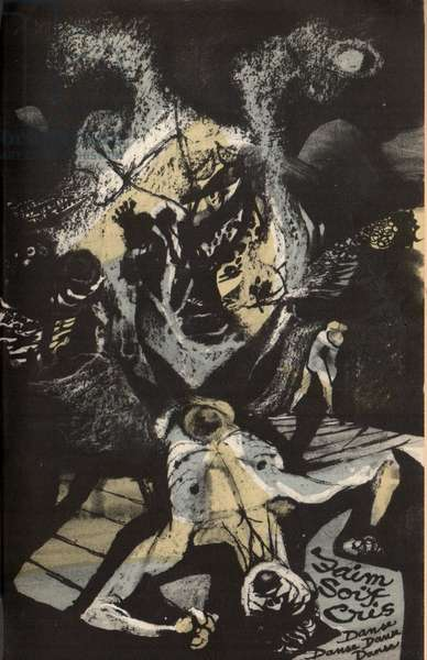 Illustration from A Season in Hell by Arthur Rimbaud, c.1957 (colour litho)
