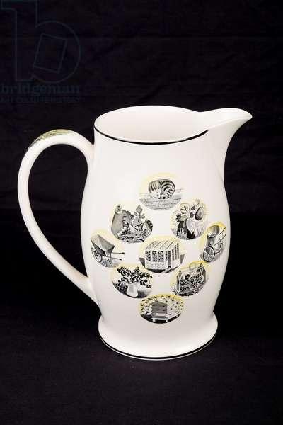 Jug from Garden Implements lemonade set (ceramic)