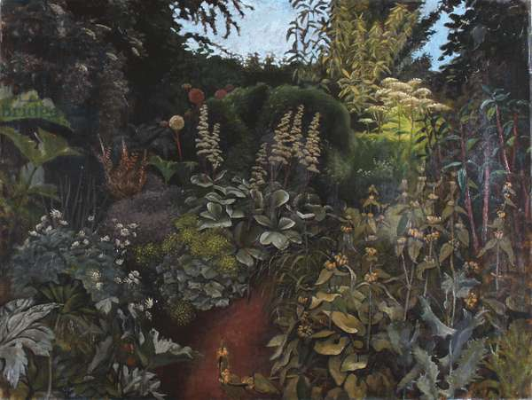 The Water Garden, Place House, 1969 (oil on canvas)