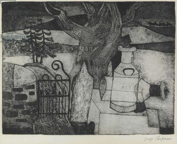 Pennant (etching)