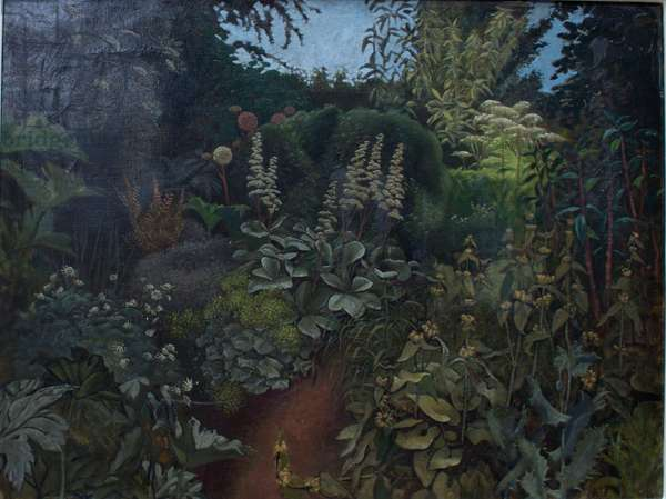 The Garden, The Place, 1956 (oil on canvas)